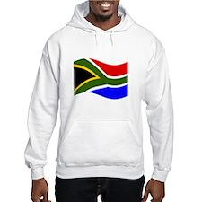 Waving South Africa Flag Hoodie