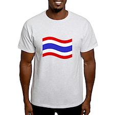 Waving Thailand Flag T-Shirt