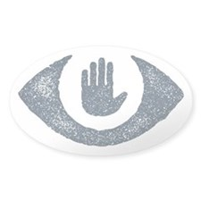 Stop Watching Us Eyecon Decal