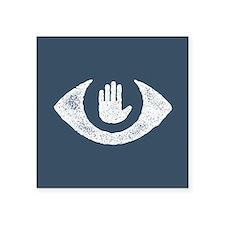 Stop Watching Us Eyecon Sticker