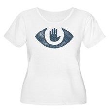 Stop Watching Us Eyecon Plus Size T-Shirt