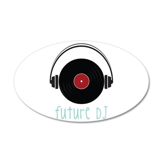 Future DJ Wall Decal