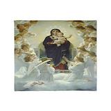 Mother mary Fleece Blankets