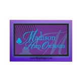 Madison Harp Orchestra [MHO] Rectangle Magnet