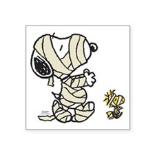 Mummy Snoopy Square Sticker 3