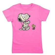 Mummy Snoopy Girl's Tee