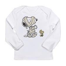Mummy Snoopy Long Sleeve Infant T-Shirt