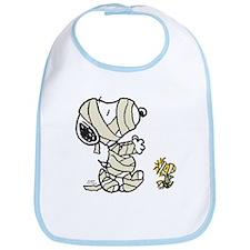 Mummy Snoopy Bib