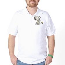 Mummy Snoopy Golf Shirt