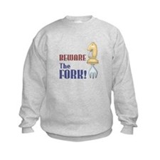 Chess: Beware of Knight Fork Sweatshirt