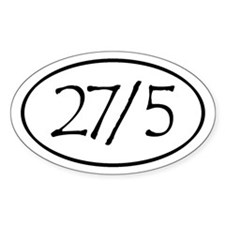 27/5 Derby Love Decal