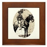 Pancho Villa Framed Tile