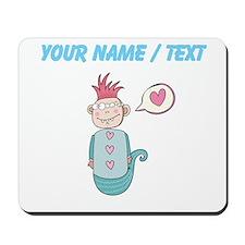 Custom Love Mutant Cartoon Mousepad