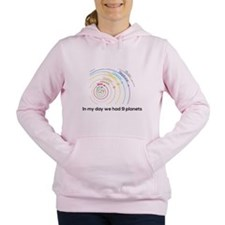 9 planets Women's Hooded Sweatshirt