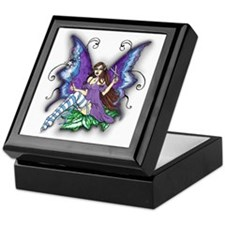 Hair Stylist Fairy Design Keepsake Box