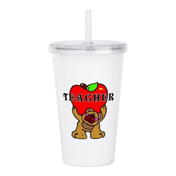 Teachers Apple Tumbler