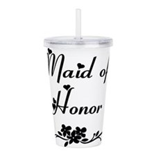 Classic Maid of Honor Acrylic Double-wall Tumbler