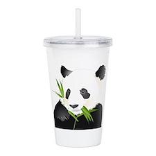 Panda Bear Acrylic Double-wall Tumbler