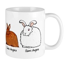 The Angora Rabbits Mugs