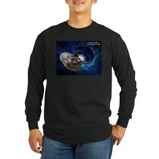 Enterprise Blue-2 Dark Long Sleeve T-Shirt