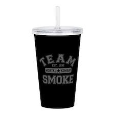 Team Smoke Mortal Kombat Acrylic Double-wall Tumbl