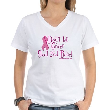 Don't let Cancer Women's V-Neck T-Shirt