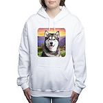 Malamute Meadow Women's Hooded Sweatshirt