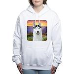 meadow.png Women's Hooded Sweatshirt