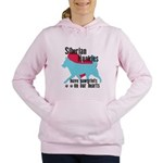 pawprints.png Women's Hooded Sweatshirt