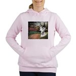 godmadedogs3.png Women's Hooded Sweatshirt