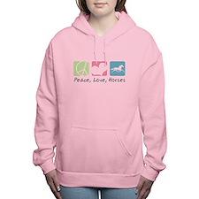 peacedogs.png Women's Hooded Sweatshirt