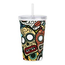 Cute Scary Acrylic Double-wall Tumbler