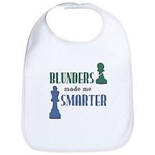 Chess: Blunders Made Me Smart Bib