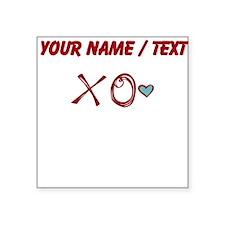 Custom XO Love Sticker