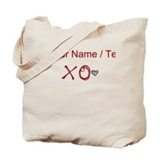 Custom XO Love Tote Bag