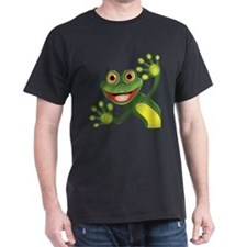 Happy Green Frog T-Shirt