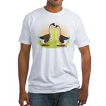 African Geese2 Fitted T-Shirt