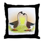 African Geese2 Throw Pillow