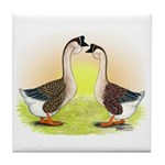African Geese2 Tile Coaster