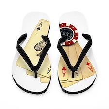 Poker - 4 Aces Flip Flops