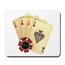 Poker - 4 Aces Mousepad