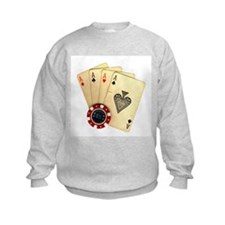 Poker - 4 Aces Sweatshirt