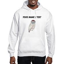 Custom White Owl Hoodie