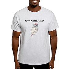 Custom White Owl T-Shirt