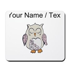 Custom Sleeping Owl Mousepad
