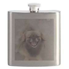 Crickett watercolor Flask