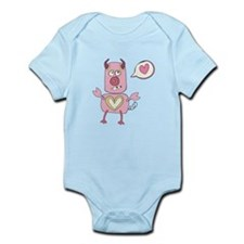 Love Pig Monster Body Suit