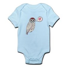 White Love Owl Body Suit