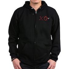 XO Love Zipped Hoodie