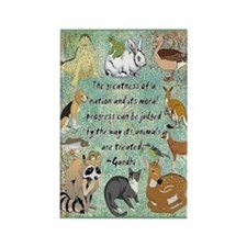 Animals Rectangle Magnet Magnets